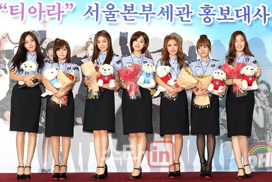 [11.09.16] T-ara son nombradas como embajadoras honorarias de Seúl en Aduanas 20110916_tara_customs_8