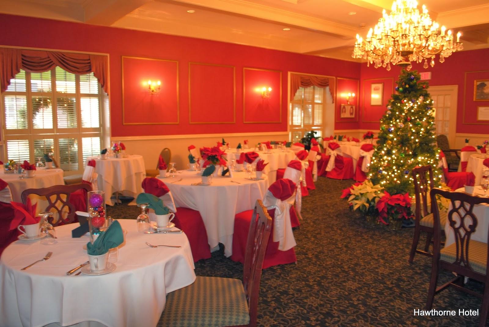 Hawthorne Hotel: Christmas Day Grand Buffet Menu