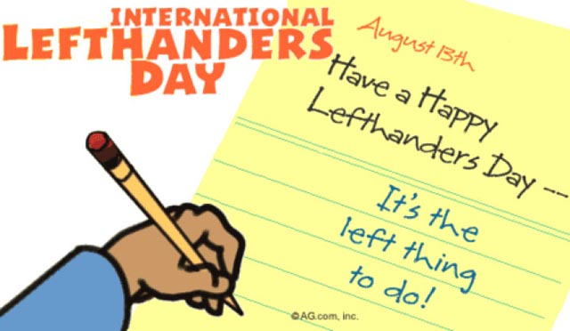 Here Are 23 Facts About Left-Handed People That You Didn't Know About. The Last One Surprised Me. - August 13th is International Left-Handers Day.