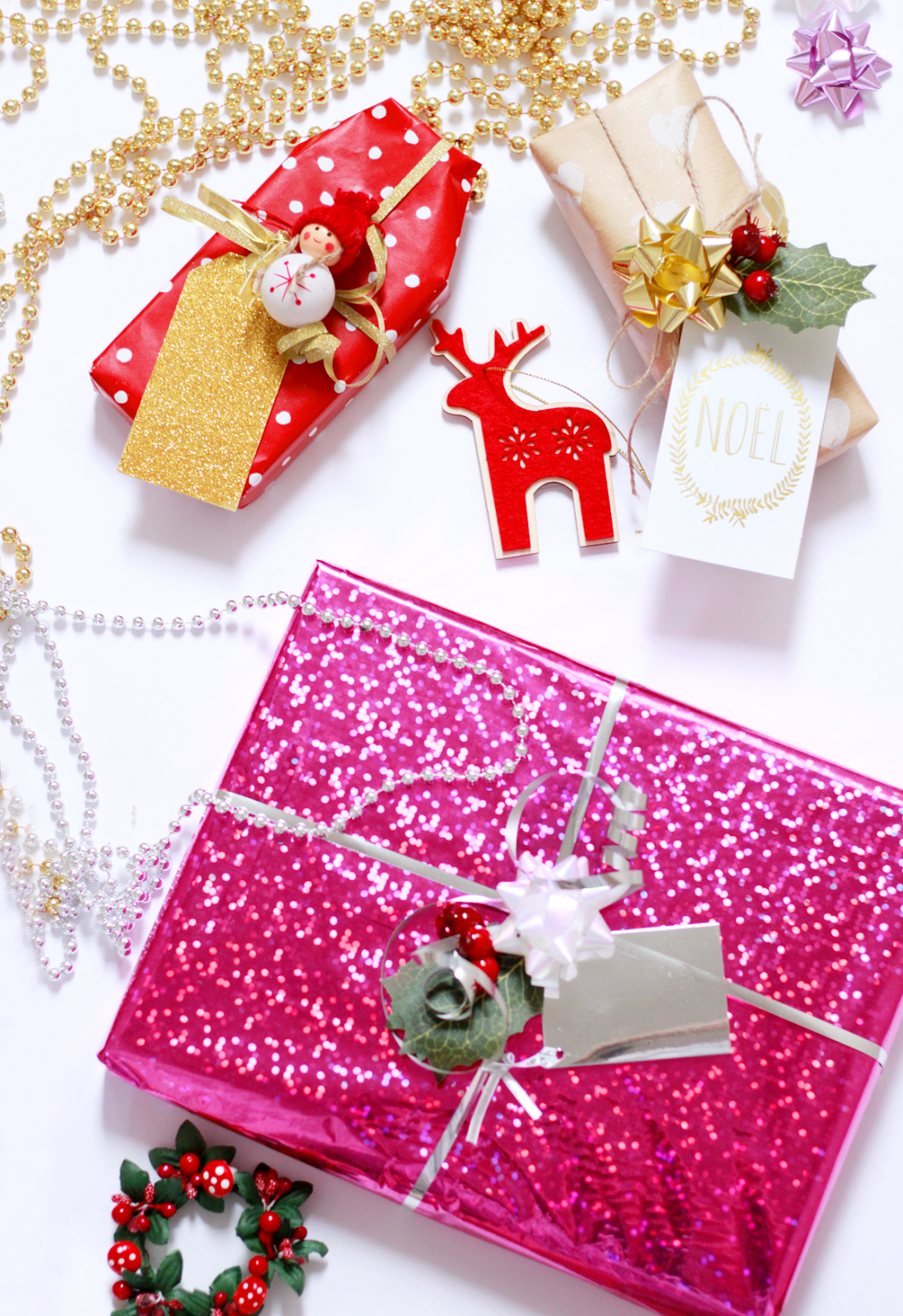 Christmas Wrapping Examples