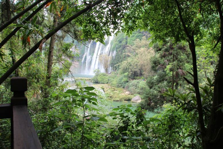 Huangguoshu Wasserfall