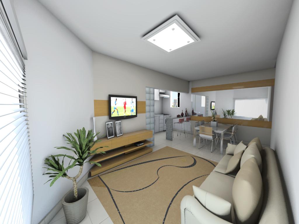 #5F4F38 RESIDENCIAL AZALEIA: Sugestão de decoração sala de estar/jantar 1024x768 píxeis em Como Decorar Sala De Jantar Pequena