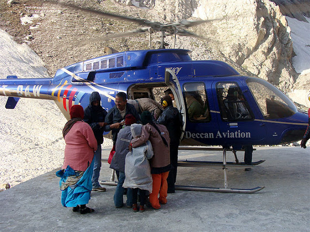 Helicopter package for Amarnath Yatra
