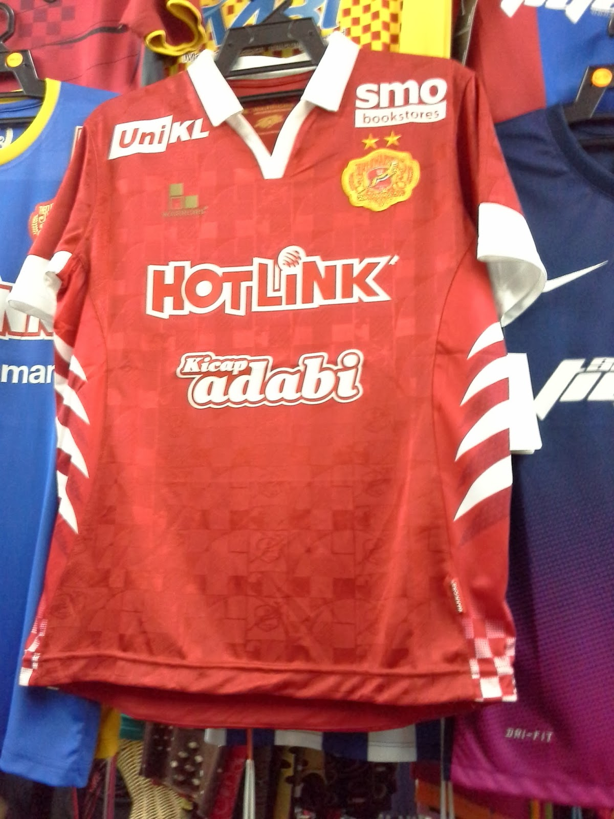 Jersey KELATE The Red Warriors 2014