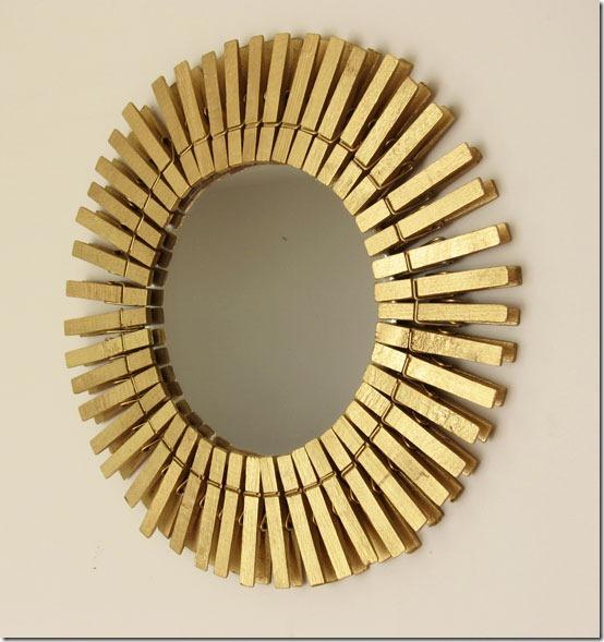 cmo hacer un espejo con pinzas de la ropa en recicla inventa