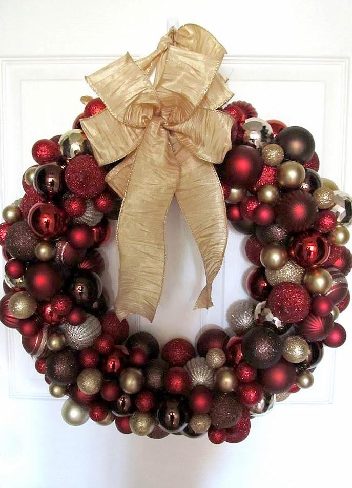 Livelovediy 20 diy christmas ornament wreath ideas and solutioingenieria Choice Image