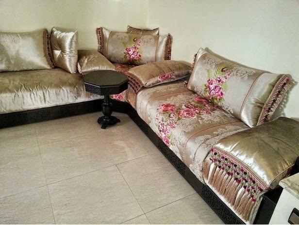 غرفة الجلوس المغربية