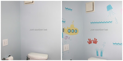 under the sea theme vinyl wall decal