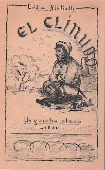 Primera edición de la novela El Clinudo