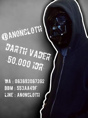 Topeng Darth Vader Star