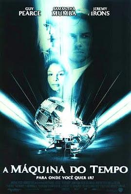 Filme A Máquina do Tempo DVDRip RMVB Dublado