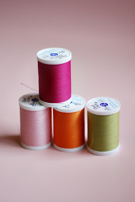 Types of Sewing Thread