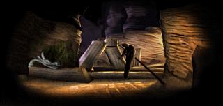 Où trouver le calice du canyon de potence dans Medievil