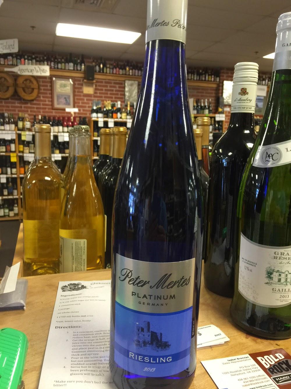 Tasting Peter Mertes Riesling Samanthau0027s Wine