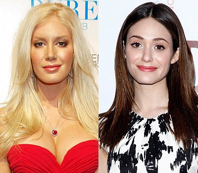 Heidi Montag and Emmy Rossum Which celebrity is the youngest?