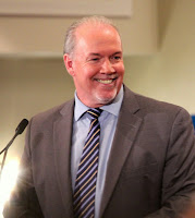 Our leader, and our Premier: John Horgan