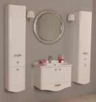 Новая коллекция мебели для ванной комнаты Акватон Венеция - белая