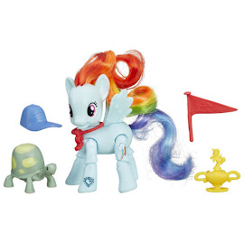 MLP Action Play Pack Wave 1 Rainbow Dash Brushable Figure