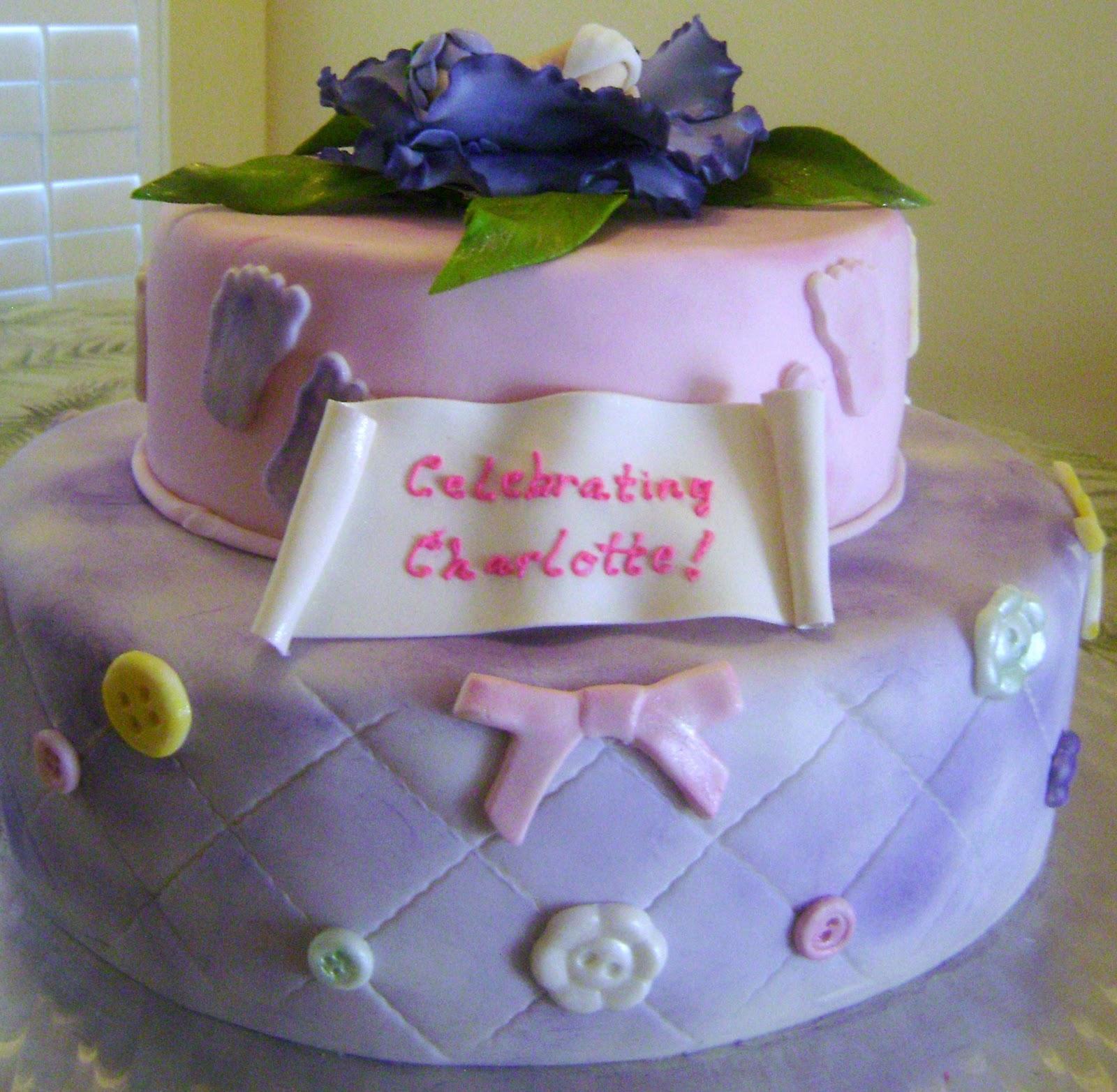 MaryMel Cakes Baby To Be Celebration