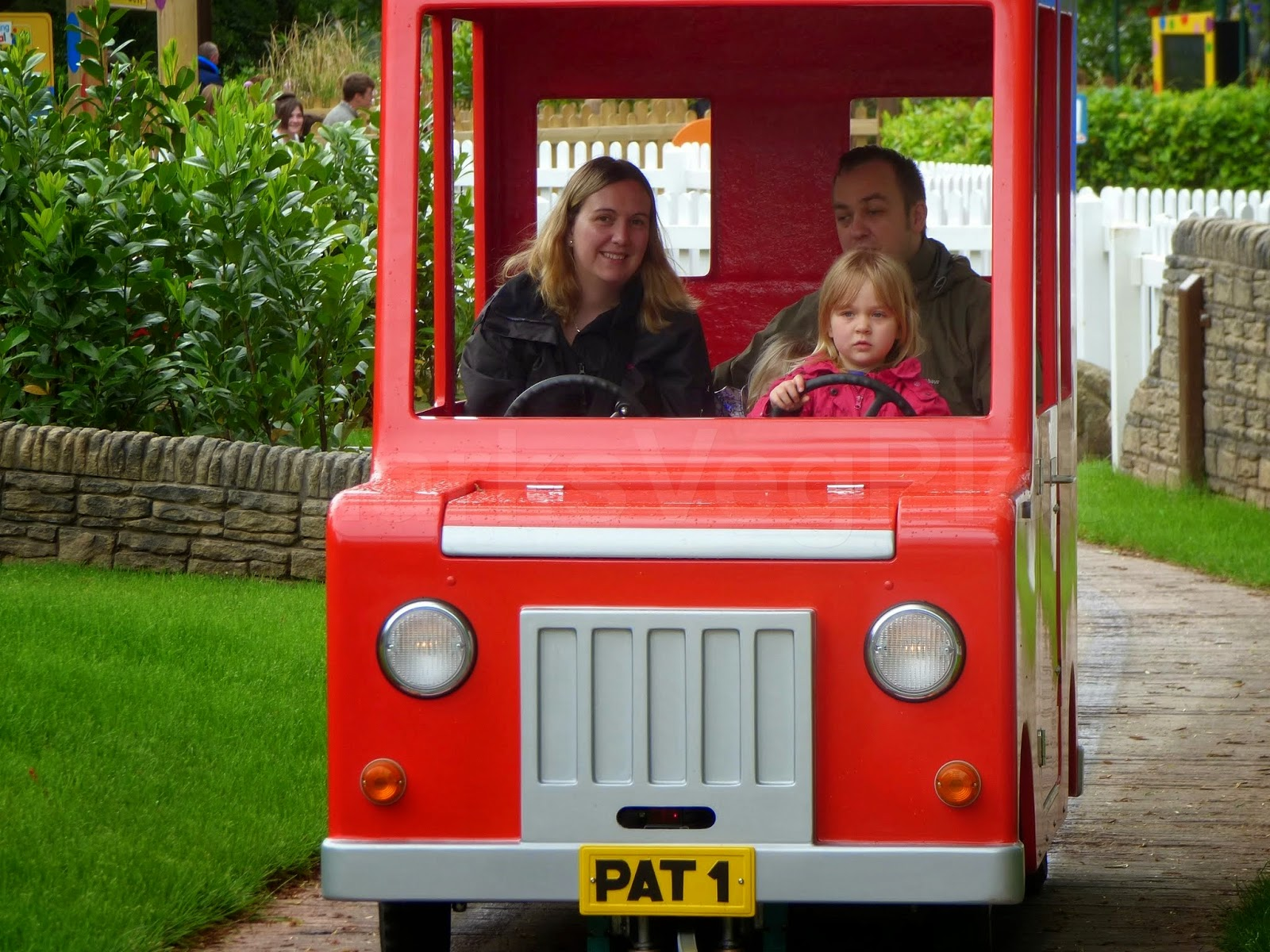 Postman Pat ride at CBeebies Land