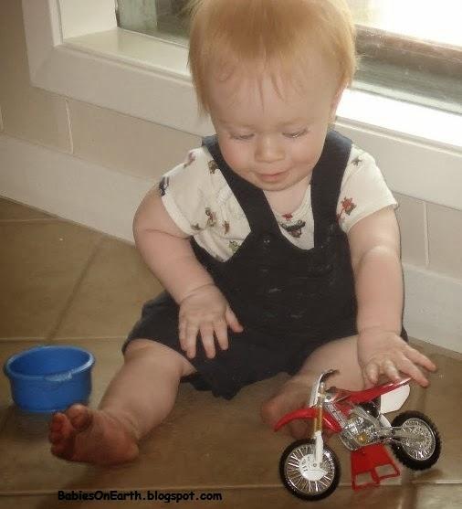 BABY MOTOGP RIDER