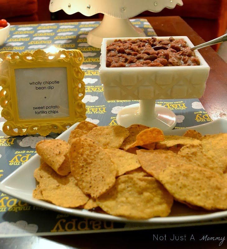Sunshine and Grey Girl's Night Out chips and dip