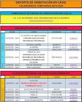 Calendario Cádiz 2019-2020