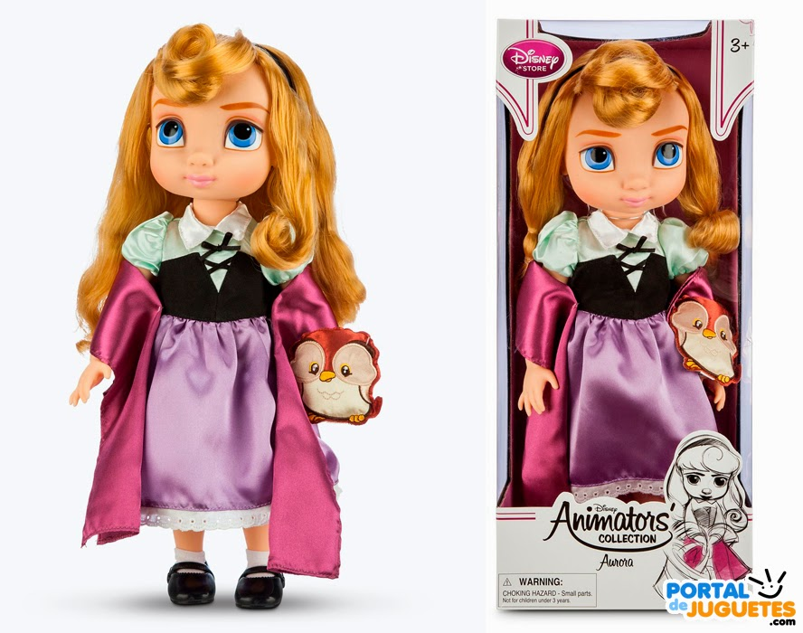 muñeca aurora coleccion disney animators tercera edicion