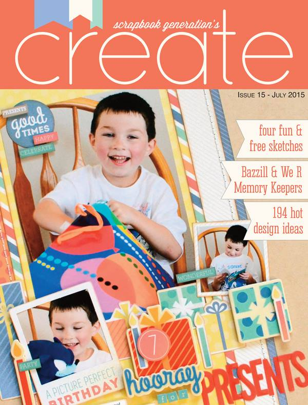 Scrapbook Generation Create Magazine July 2015