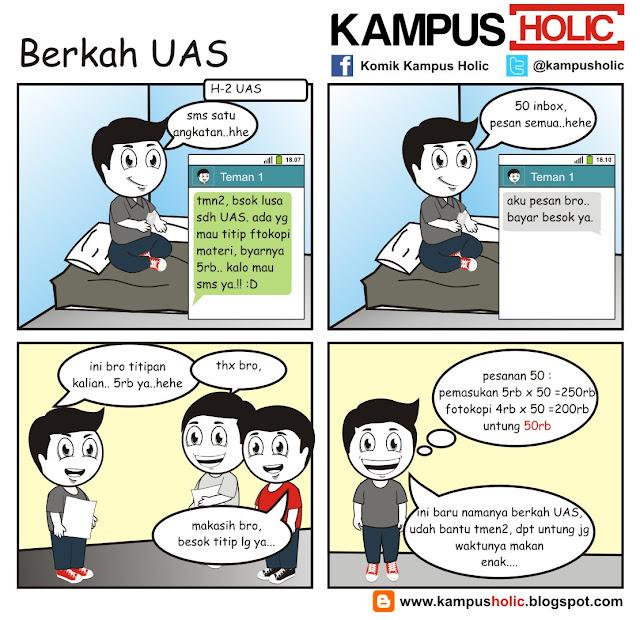 #008 Berkah UAS ujian akhir semester