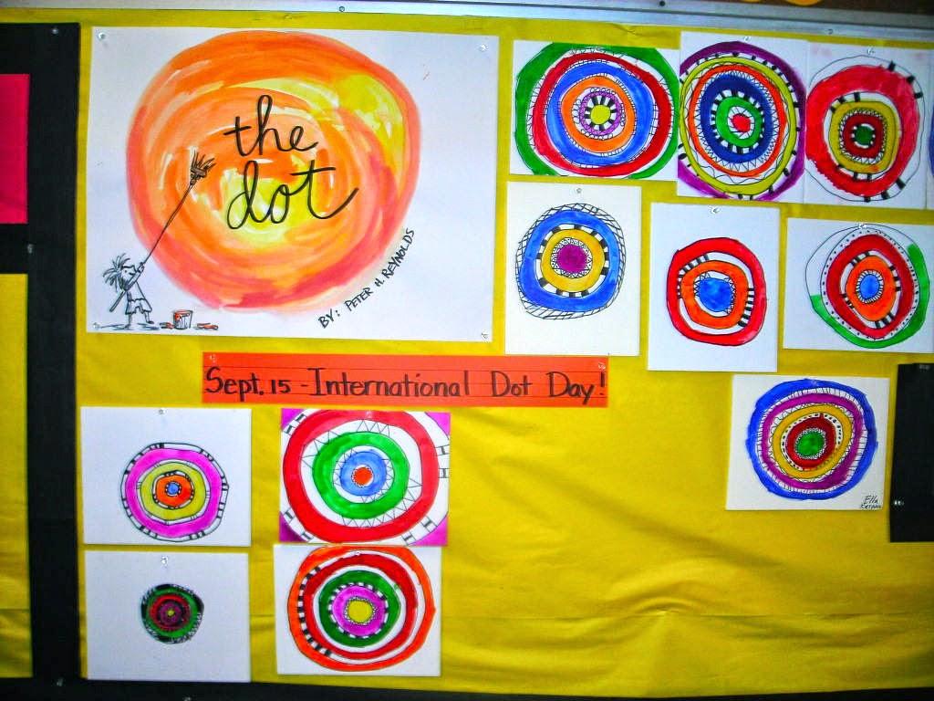fine lines lots of dots in kindergarten