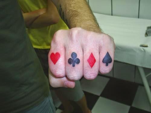 Top 20 Tatuagem de Cartas De Baralho!