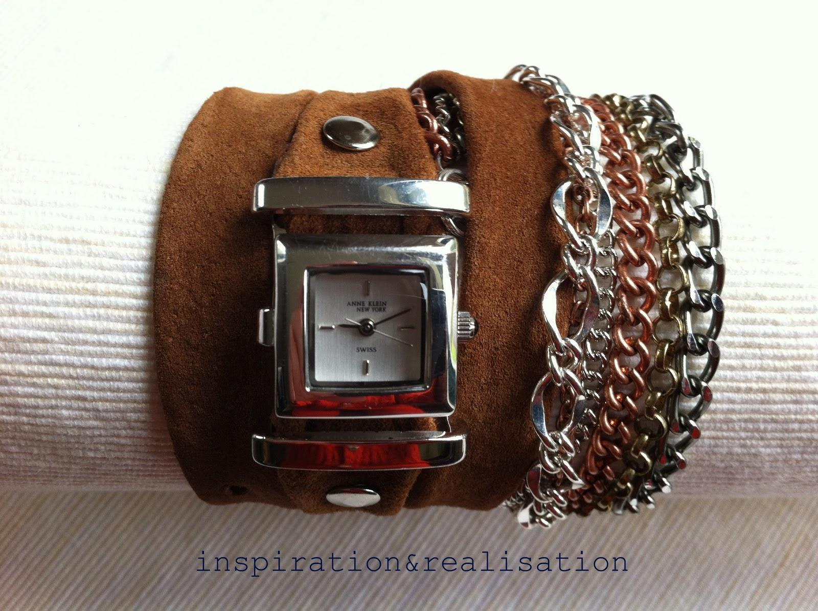 Как из кожи сделать браслет для часов своими руками 73