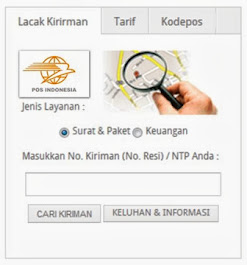 Lacak Kiriman Via Pos Indonesia