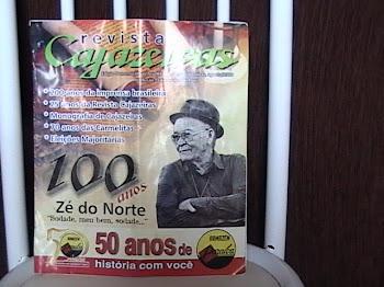 REVISTA CAJAZEIRAS  EDIÇAO DE PESQUISA ESCOLAR EDITOR RESP CHICO DO RADIO