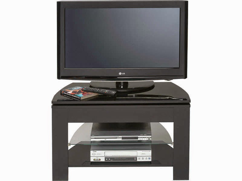 Meuble tv noir conforama meuble tv for Table tv pas cher