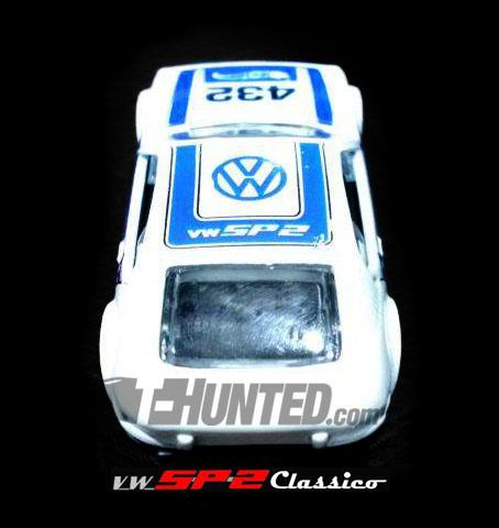 Novo Volkswagen SP2 - Hot Wheels