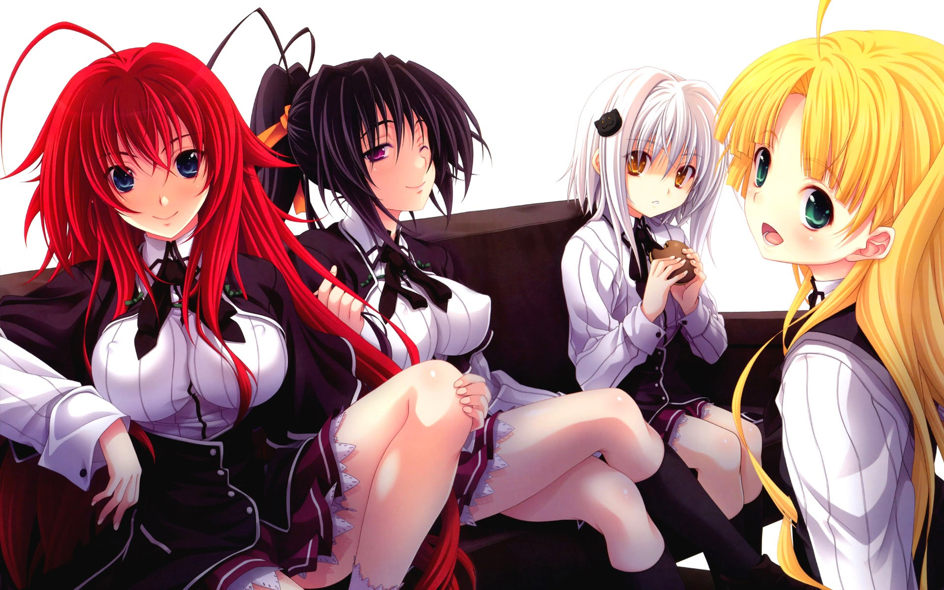 Wallpapers Friends: High School DxD