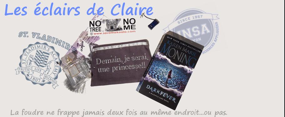 Les éclairs de Claire