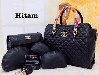 Tas KW Chanel Natasha Semi Premium 5in1 330MV Jakarta