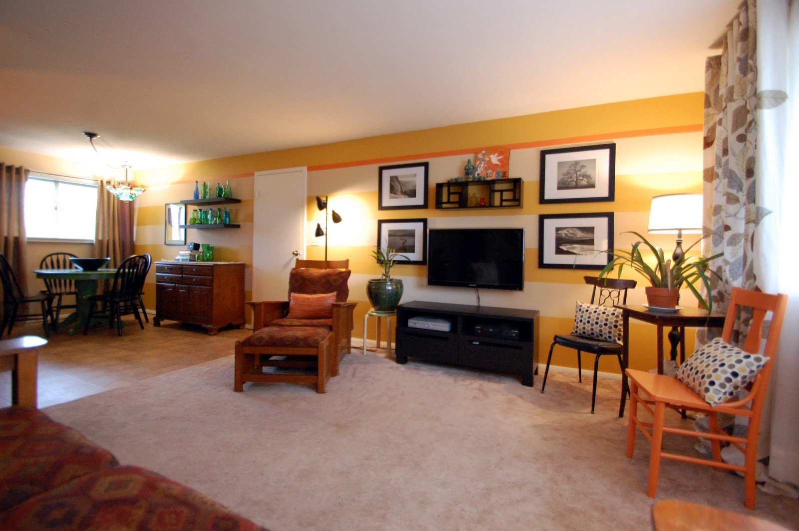 happyroost living room amp dining room makeover revealed living room living room makeover ideas design living