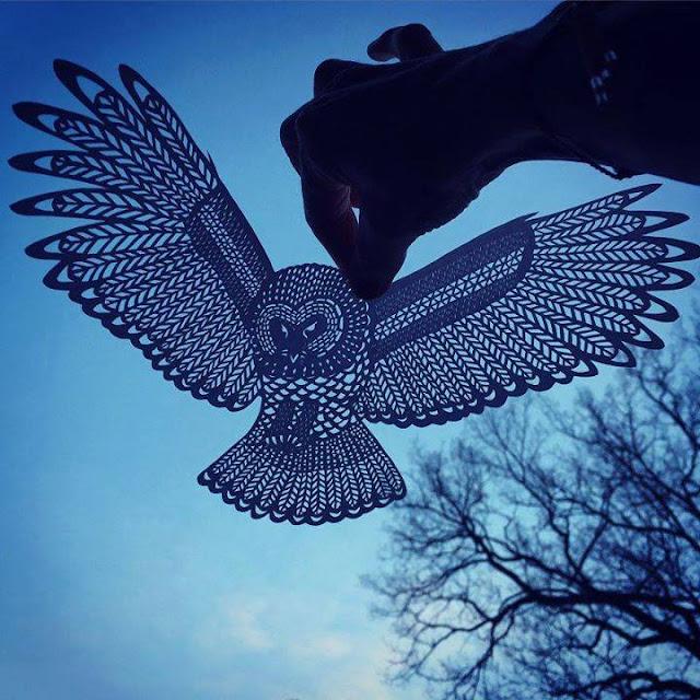 Paper Handcraft OWL