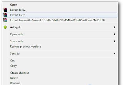 Tutorial Jailbreak iOS 7.0 - 7.0.6