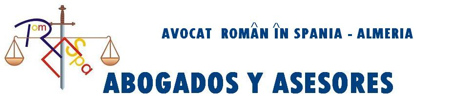 Avocat Roman in Spania