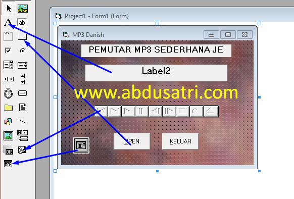 cara membuat aplikasi mp3 dengan visual basic