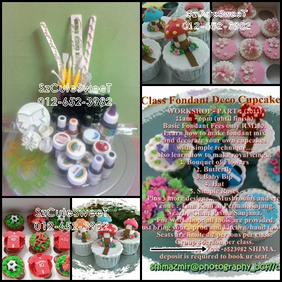 CLASS HANDS ON DECO /FONDANT & ROYAL ICING.FEES RM180/person & ONLY RM300/ 2person.
