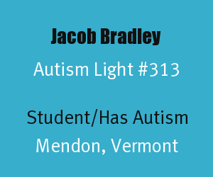 Jacob Bradley Autism Light Number 313
