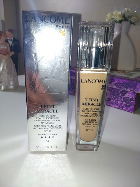 Resenha completa da Teint Miracle da Lancôme