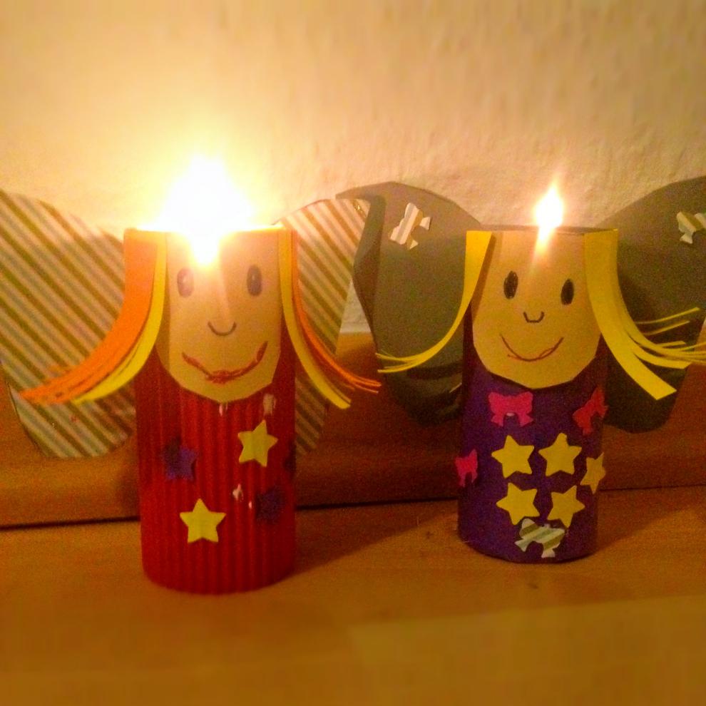 Die weihnachtsbloggerei engel basteln mit kindern weihnachtsbloggerei 2015 2 - Engel basteln aus naturmaterialien ...
