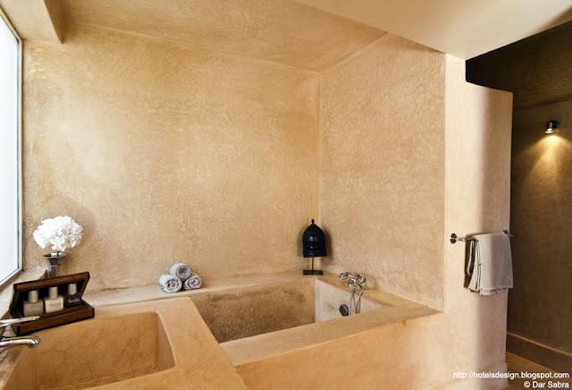 Les plus beaux hotels design du monde h tel dar sabra - Plus belle salle de bain du monde ...